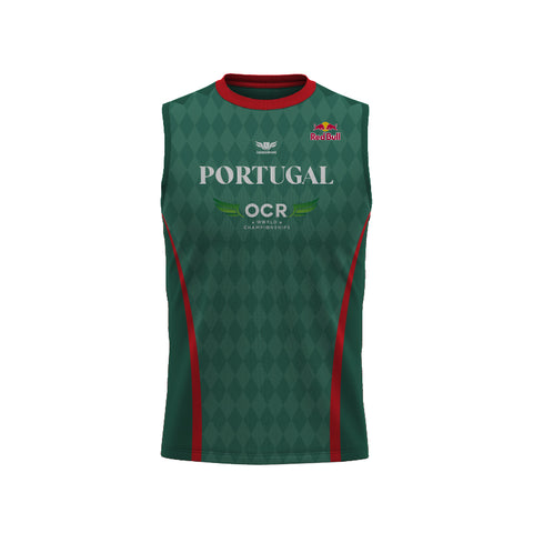 LegendBorne OCRWC 2021 Portugal Sleeveless Jersey - Men's