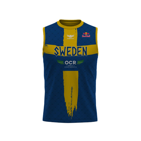 LegendBorne OCRWC 2021 Sweden Sleeveless Jersey - Men's
