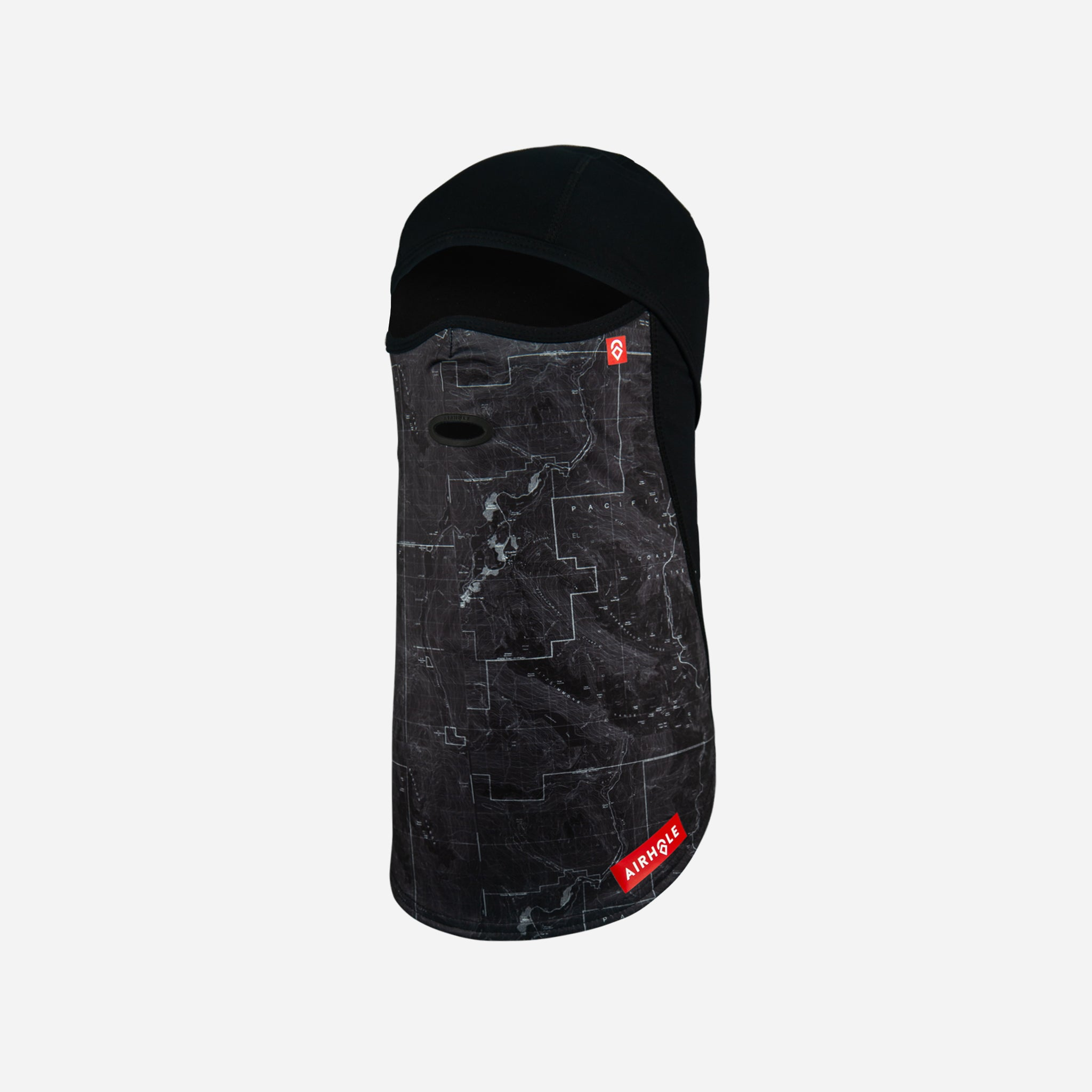 Balaclava Full Hinge 20K Softshell Topographic Black