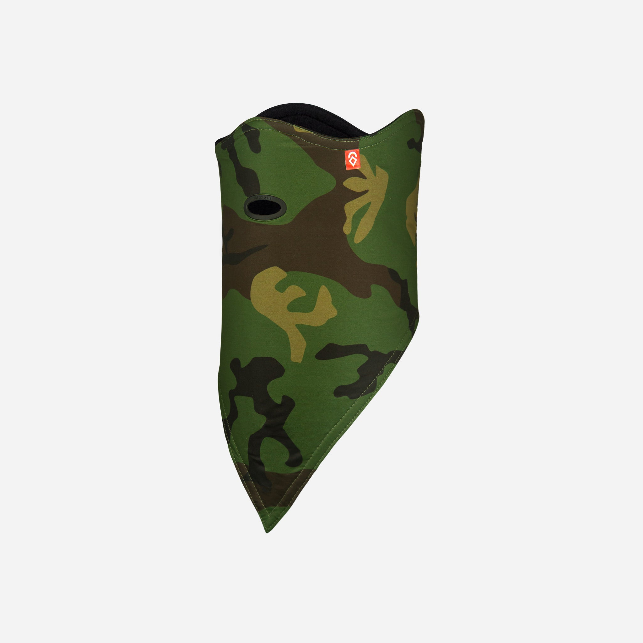 Facemask Standard 10K Softshell Woodland Camo
