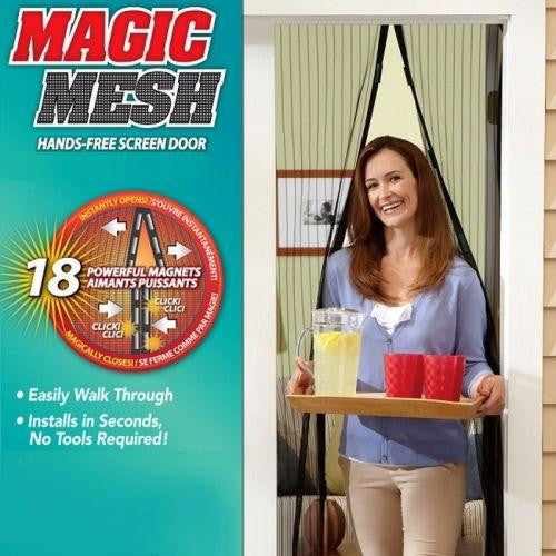 Perdea magnetica Magic Mesh - lolito-ro