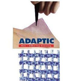 "Systagenix Adaptic Non-adhering Dressing 5"" x 9"", Sterile (Carton of 12 Each)"