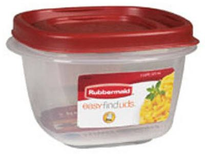 Rubbermaid  Easy Find Lid Square 2-Cup Food Storage
