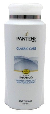 Pantene Pro-V Classic Care Daily Shampoo 25.4 Fluid Ounce (packaging may vary)