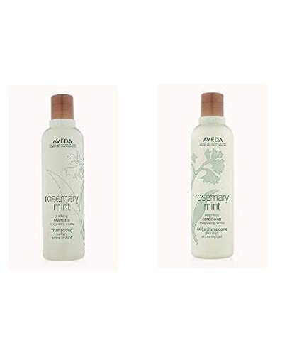 Aveda Rosemary Mint Purifying Shampoo 8.5oz & Weightless Conditioner 8.5oz Set