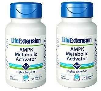 Life Extension AMPK Metabolic Activator 30 tabletss X 2
