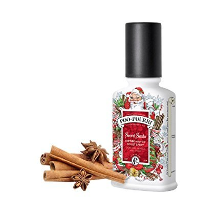 Poo Pourri Secret Santa Claus Christmas Bathroom Spray - 4 Oz , 4 Fluid Ounce