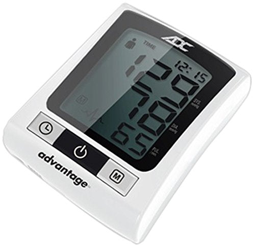 ADC Advantage 6015N Automatic Digital Wrist Blood Pressure Monitor, with Storage Case, BHS AA Rated