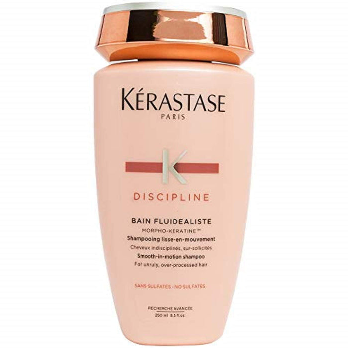 Kerastase Discipline Bain Fluidealiste Smooth-In-Motion Shampoo - For Unruly, Over-Processed Hair (New Packaging) 250ml/8.5oz