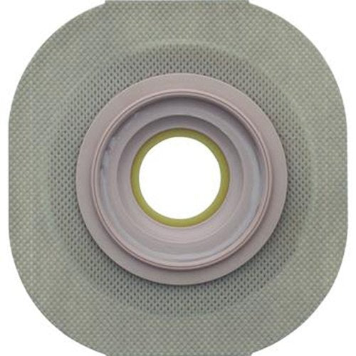 "Hollister New Image Flextend Convex Skin Barrier with Floating Flange - Color R, Flange 2 1/4"", Pre-Cut 1 1/8"" - Box of"