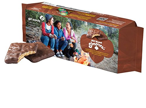 Girl Scout Smores Cookies (New for 2017)