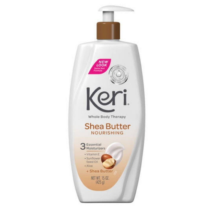 Keri Whole Body Therapy Nourishing Shea Butter Lotion 15 oz (Pack Of 3)
