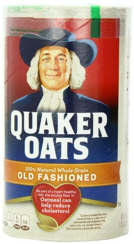 Quaker Oats Old Fashioned, 18 0z. (2 Pack)