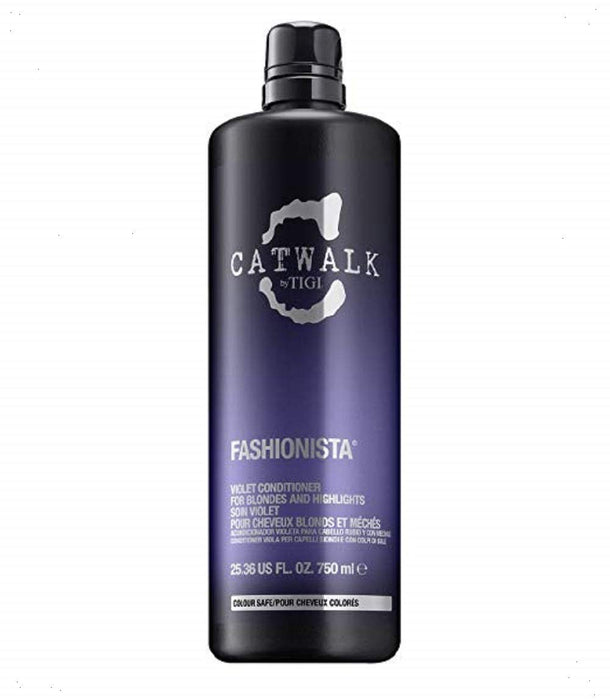 Tigi Catwalk Fashionista Violet Conditioner for Unisex, 25.36 Ounce