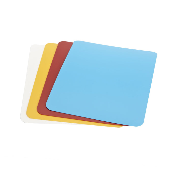 Good Cook 4-Pack Flexible Mini Chopping Mats, 5.75 in x 7.5 in