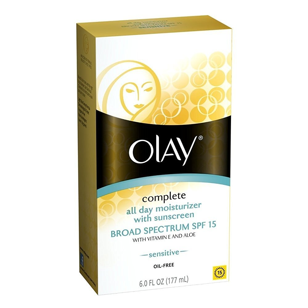 OLAY Complete All Day Moisturizer SPF 15, Sensitive Skin 6 oz
