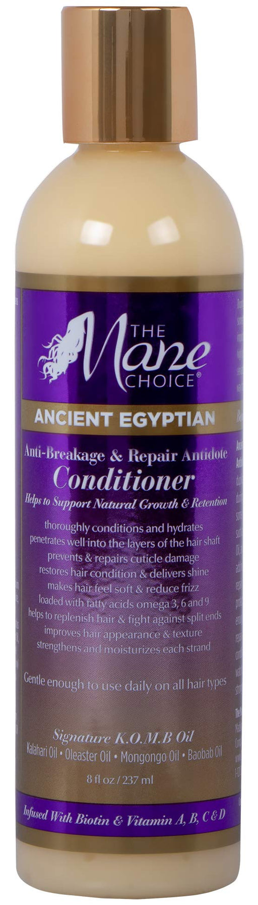 THE MANE CHOICE Ancient Egyptian Anti-Breakage & Repair Antidote Conditioner - Hydrates and Strengthens Your Hair While Promoting Growth and Retention (8 Ounces / 236 Milliliters)