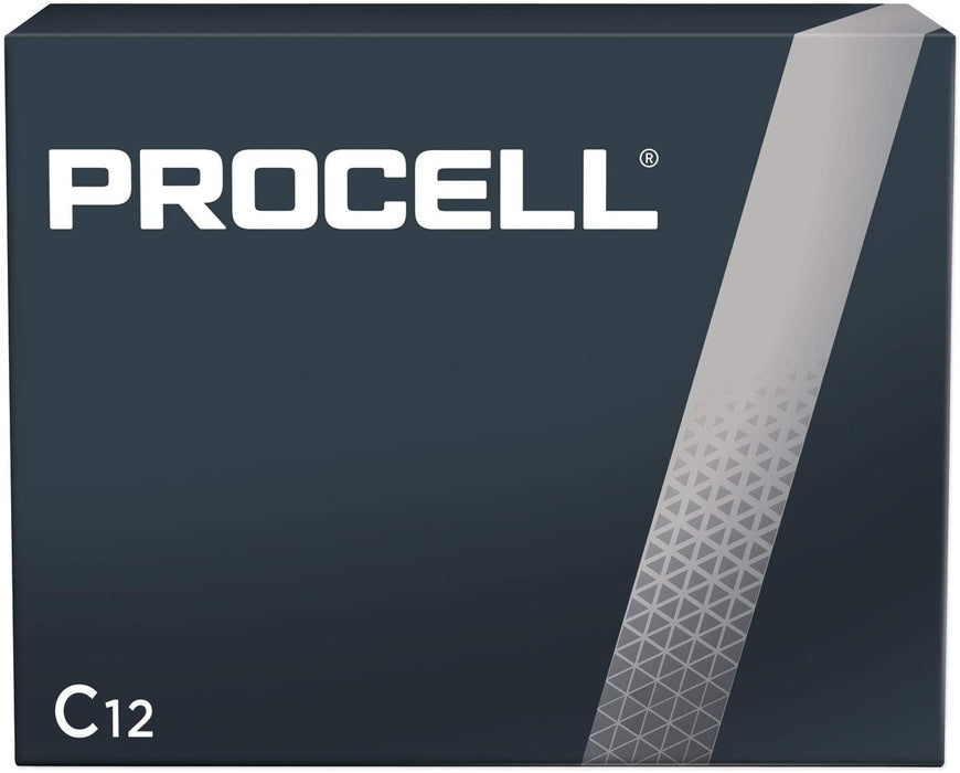DURACELL C12 PROCELL Professional Alkaline Battery, 12 Count