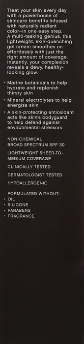 Bareminerals Complexion Rescue Tinted Hydrating Gel Cream Spf 30-07 Tan, 2.36 Ounce