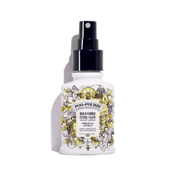 Poo-Pourri Before-You-Go Toilet Spray, 2 oz, Original Citrus Scent, 2 Fl Oz