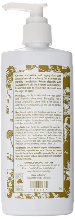 Eminence Firm Skin Acai Cleanser, 8.4 Ounce (Package may vary)