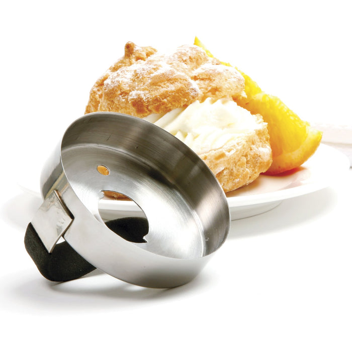 Norpro 3494 Donut Biscuit Cutter with Removable Center