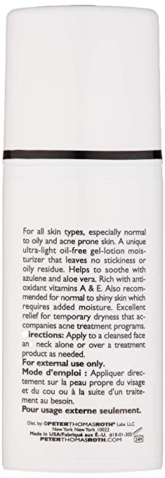 Peter Thomas Roth Ultra-Lite Oil-Free Moisturizer, 1.7 Fl. Oz.
