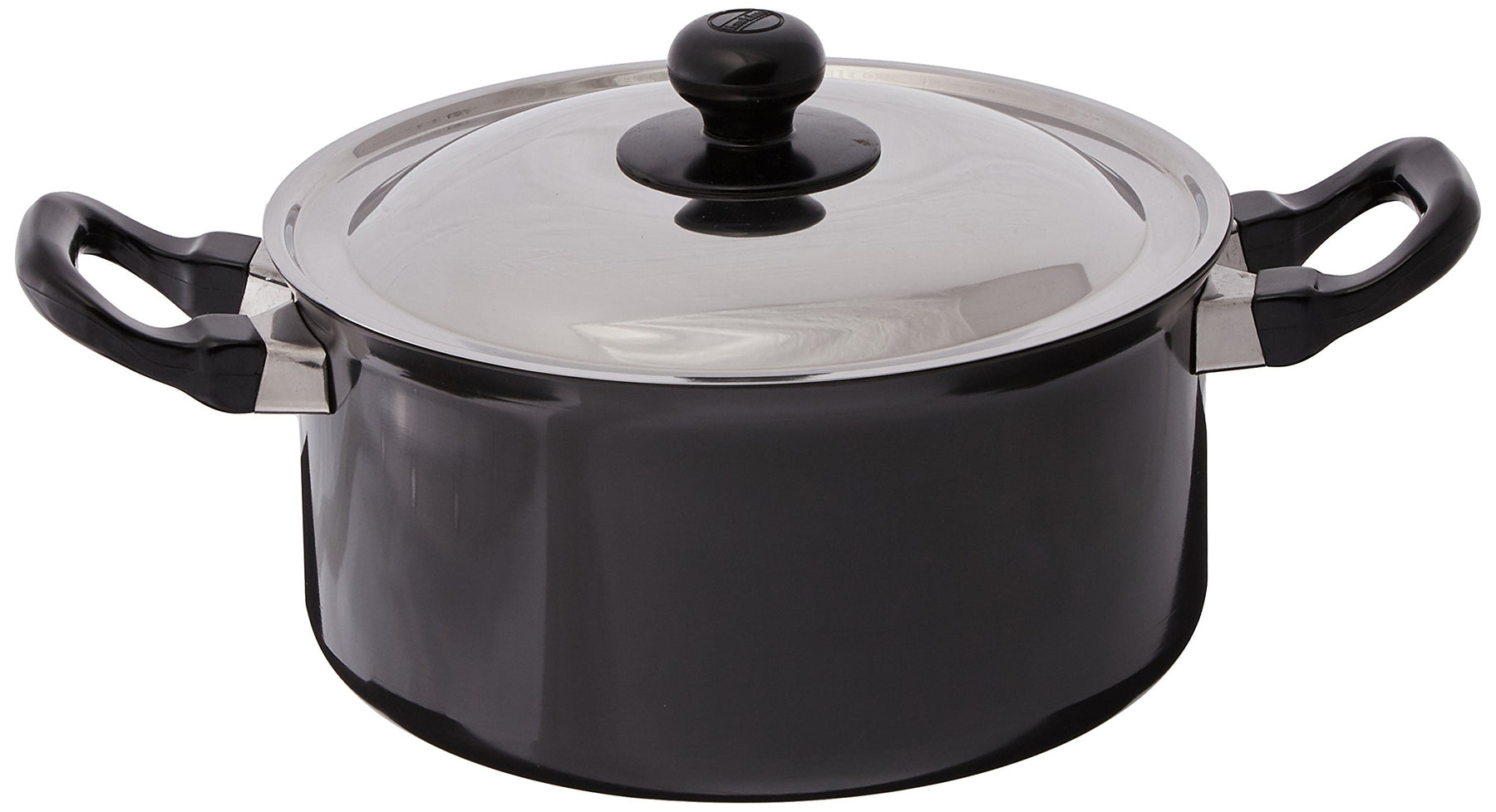 Futura Induction Future Nonstick Induction Base Stewpot with Steel Lid, 3 L, Small, Black