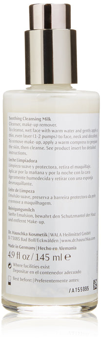 Dr. Hauschka Soothing Cleansing Milk, 4.9 Fluid Ounce