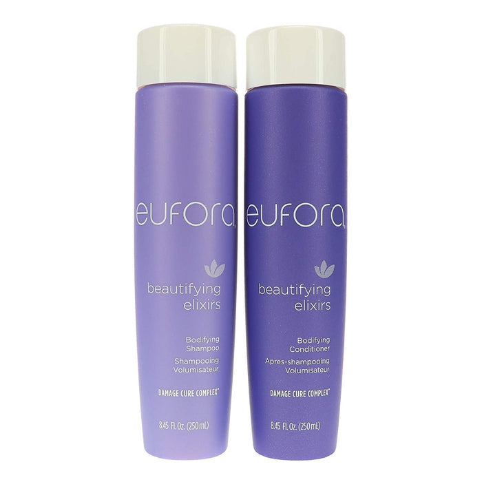 Eufora Beautifying Elixirs Bodifying Shampoo and conditioner 8.5 Oz each