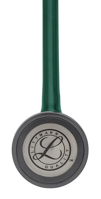 3M Littmann Master Cardiology Stethoscope, Hunter Green Tube, 27 inch, 2165