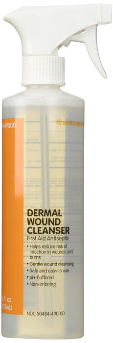 Smith and Nephew Dermal Wound Cleanser - 16 oz Spray Bottle