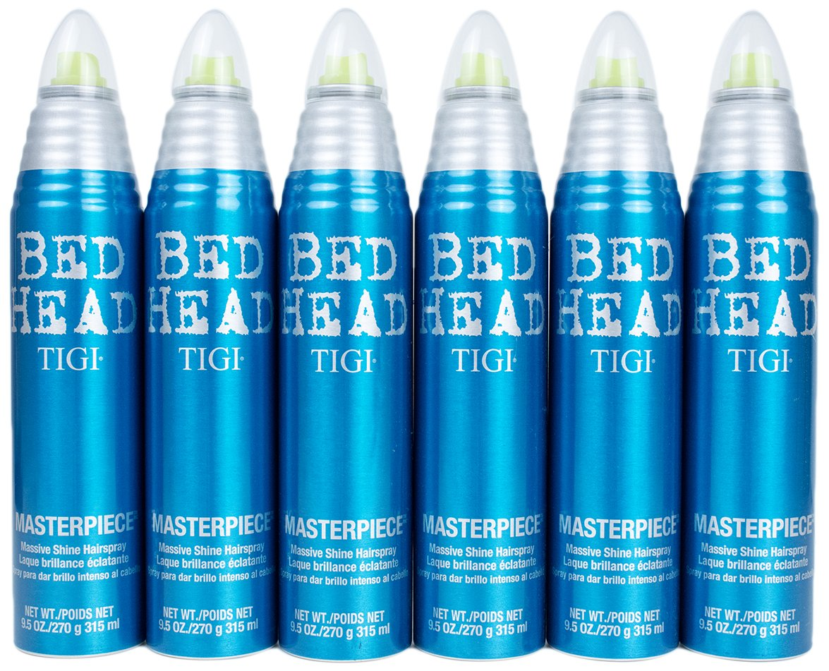 Tigi BedHead Masterpiece 9.5 Ounce Pack of 6