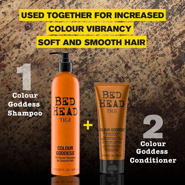 TIGI Bed Head Color Goddess Oil Infused Conditioner, 6.76 Ounce