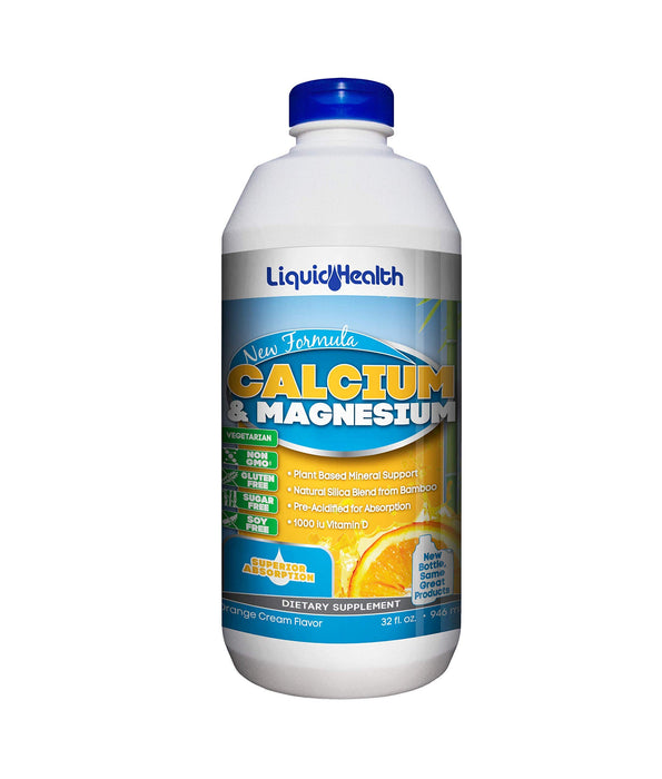 Liquid Health Products Calcium and Magnesium, 32 Fluid Ounce