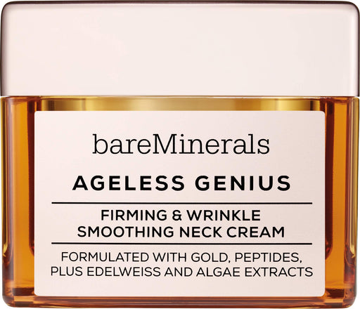 bareMinerals Ageless Genius Firming and Wrinkle Smoothing Neck Cream, 1.7 Ounce