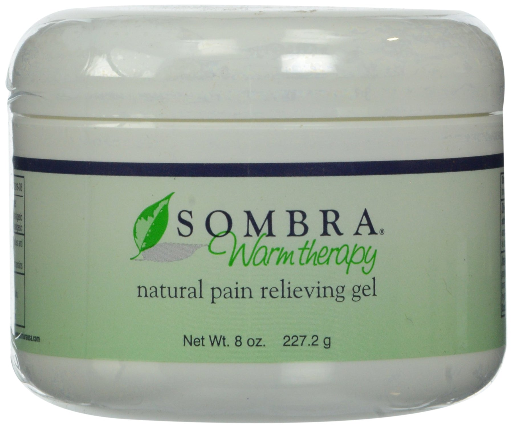 Sombra Warm Therapy Natural Pain Relieving Gel, 8 Ounce
