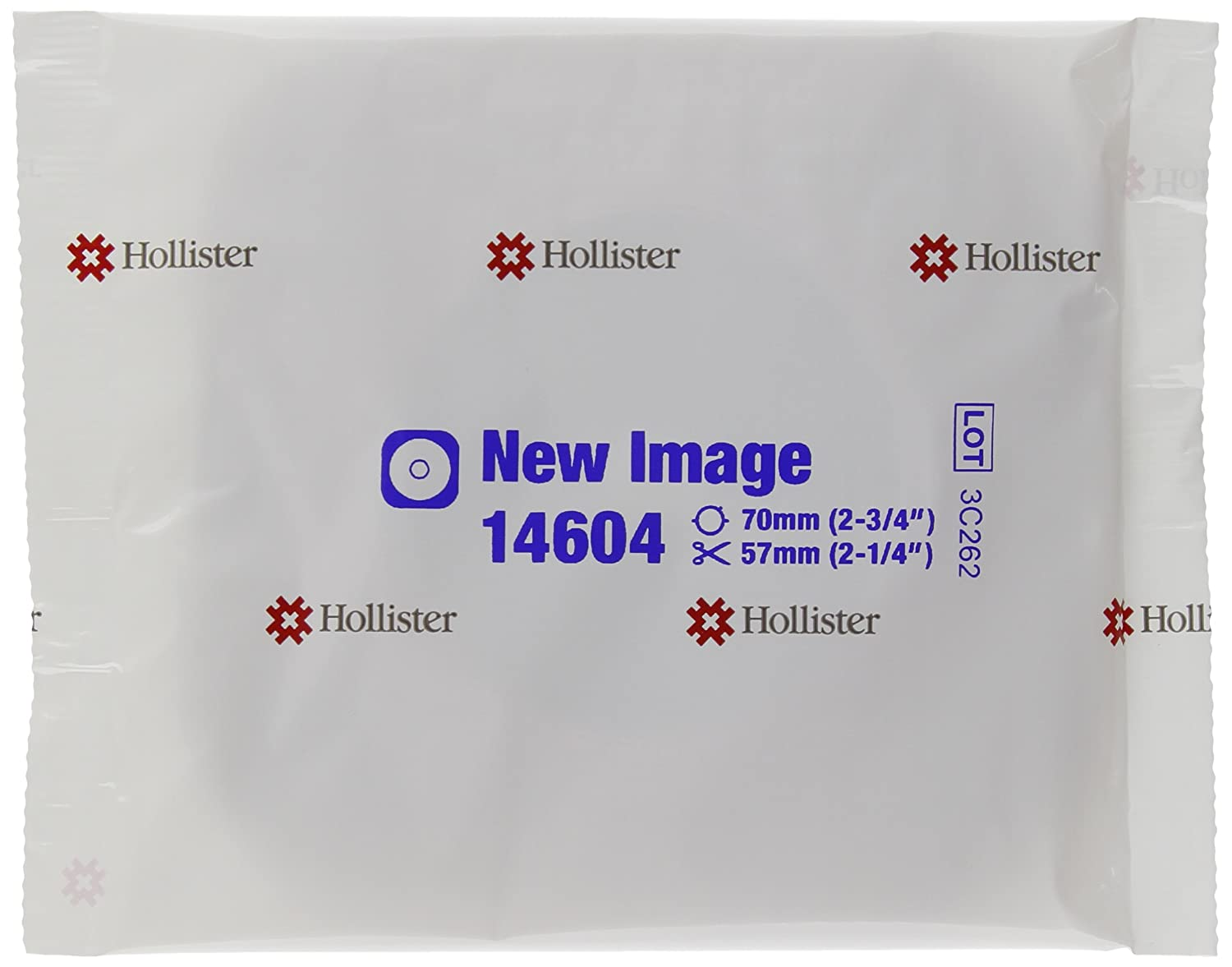Hollister New Image Flextend Flat Skin Barrier with Tape Border, 5 Count