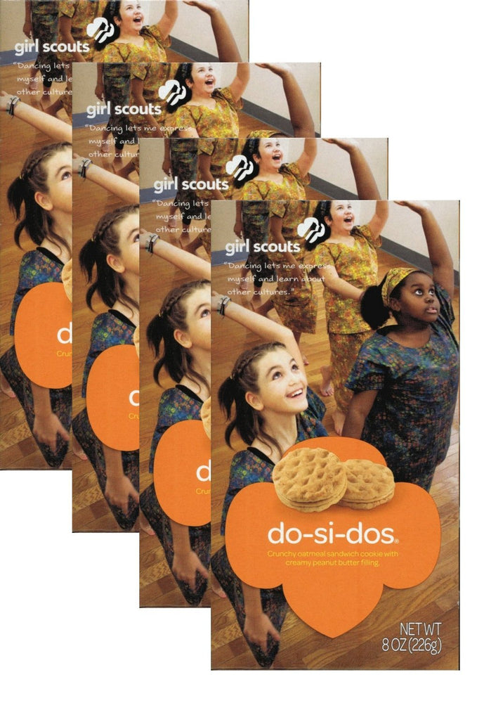 Girl Scout Do-Si-Do's or Peanut Butter Sandwich, 4 boxes