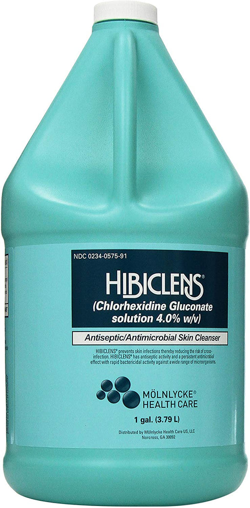 Molnlycke Hibiclens Antiseptic Antimicrobial Skin Cleanser, 1 Gallon