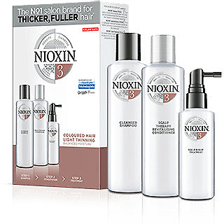 Nioxin Kit System 3 Trial Shampoo + Conditioner + Treatment
