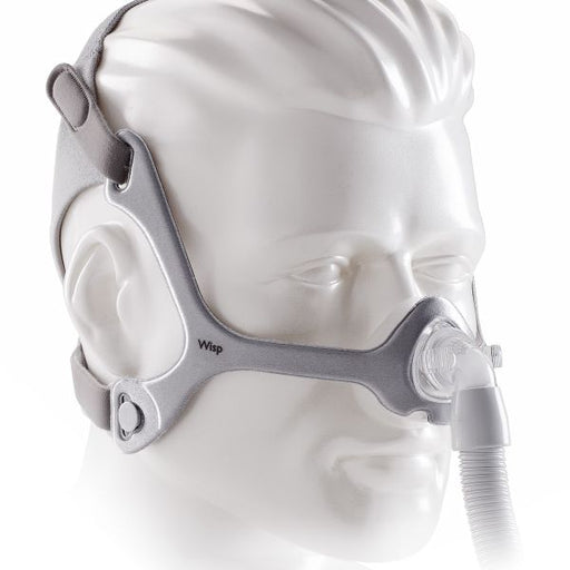 Wisp Mask with Clear Frame and Headgear by Phillips Respironics - 1094050