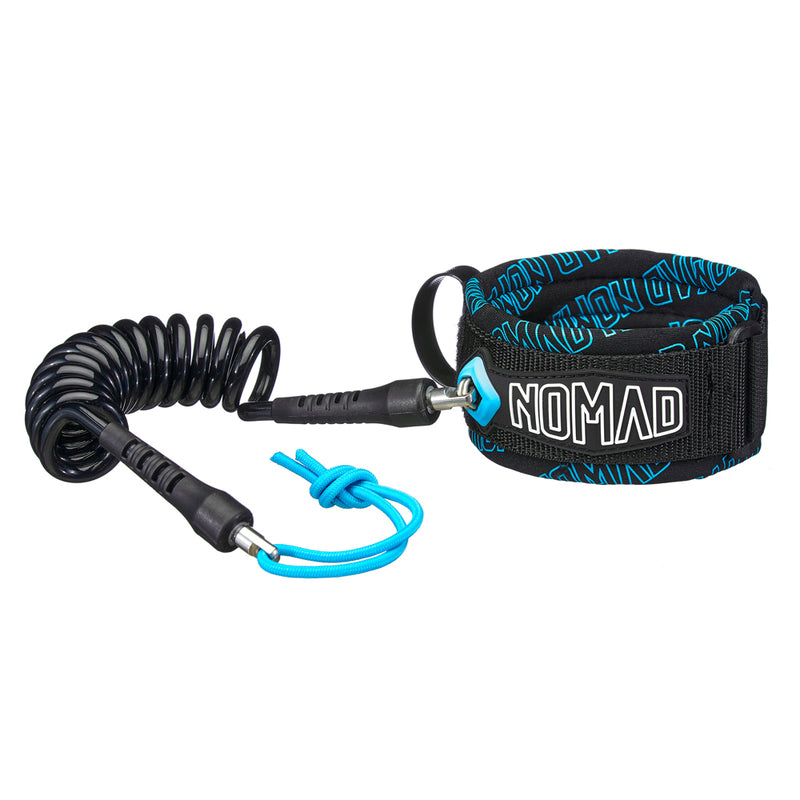 Nomad Double Swivel Bicep Leash (Medium) - Nomad Bodyboards