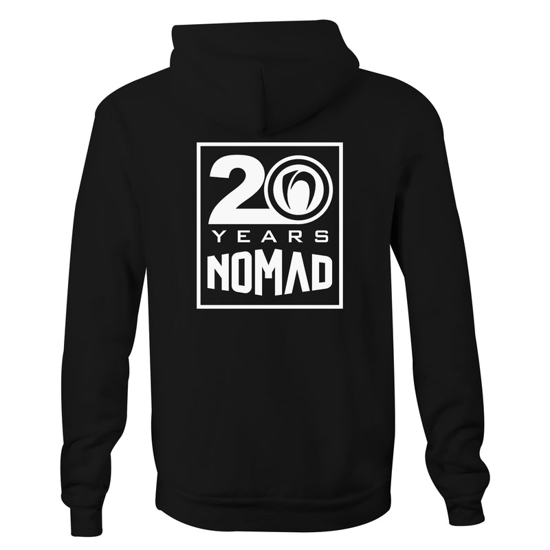 Nomad '20 Years' Hooded Jumper - Nomad Bodyboards
