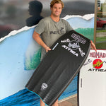 Ultimate QUAD PREMIUM PP - Crescent Tail - Nomad Bodyboards