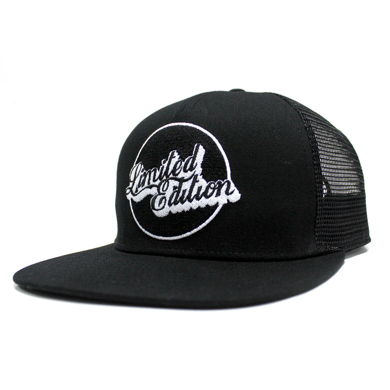 Limited Edition Black Snap Back Hat