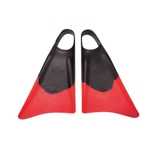 Limited Edition - Lackey - Black / Red - Nomad Bodyboards