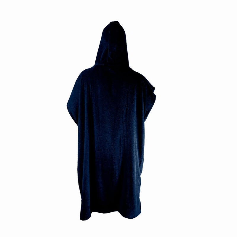Limited Edition Poncho Towel - Midnight Blue and White - Nomad Bodyboards