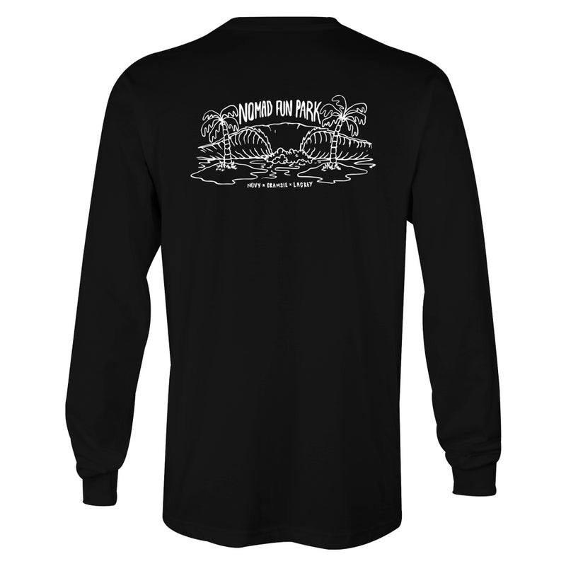 Nomad Fun Park Long Sleeve T-Shirt - Nomad Bodyboards