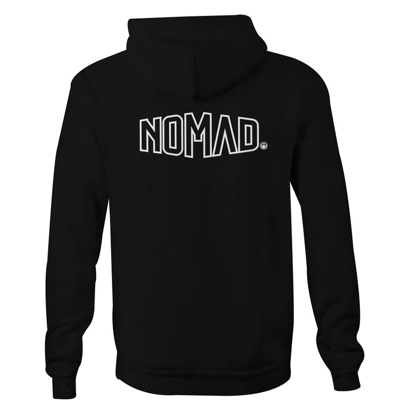 "Nomad ""Represent"" Hooded Jumper - Nomad Bodyboards"
